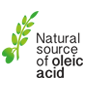 Natural source of oleic acid
